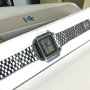 Adidas men's Archive M1 stainless steel watch.